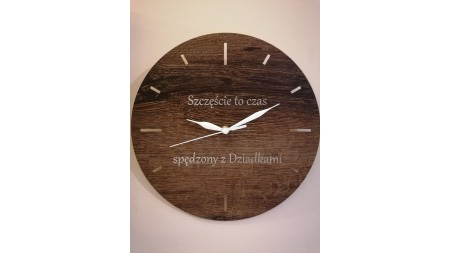 WALL CLOCK FOR GRANPARENTS
